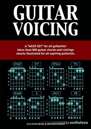 Guitar: Voicing Book (Guitar Chords) - Guitar Lesson Complete Guide for All Levels