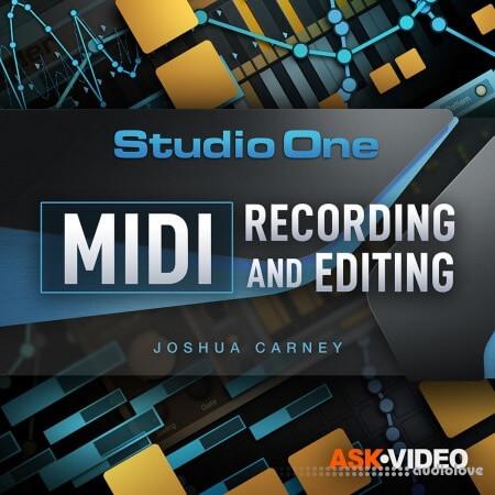 Ask Video Studio One 5 Studio One 5 102 - MIDI Recording and Editing