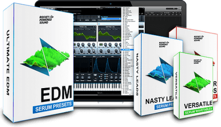 Rocket Powered Sound Ultimate EDM Serum Pack & Extension