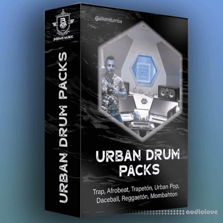 Elke Retumba Bundle Urban Drum Pack Reggaeton, Afrobeat ,Trapeton, Dhall