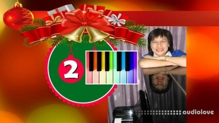 Udemy Learn Piano #2 Play Piano Color Chords & 19 Ballads