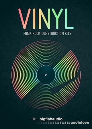 Big Fish Audio VINYL: Funk Rock Construction Kits