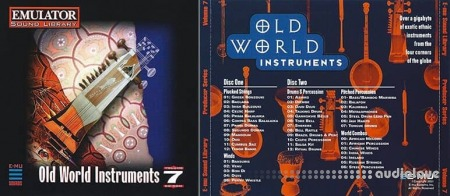 E-MU Producer Series Vol.7 Old World Instruments