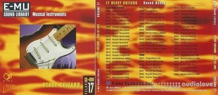 E-MU Classic Series Vol.17 Heavy Guitars