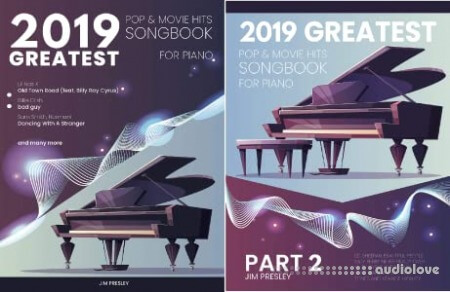 2019 Greatest Pop & Movie Hits Songbook for Piano Part 2