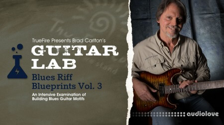 Truefire Brad Carlton Guitar Lab Blues Riff Blueprints Vol.3