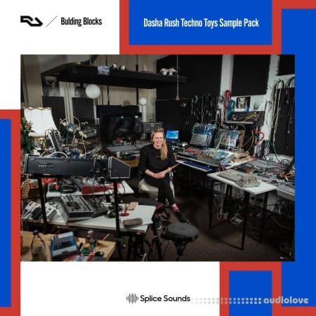 Splice Sounds Dasha Rush Techno Toys Sample Pack WAV