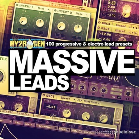HY2ROGEN Massive Leads Synth Presets