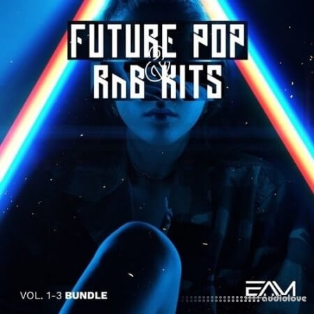 Essential Audio Media Future Pop and RnB Kits Vol.1-3 Bundle