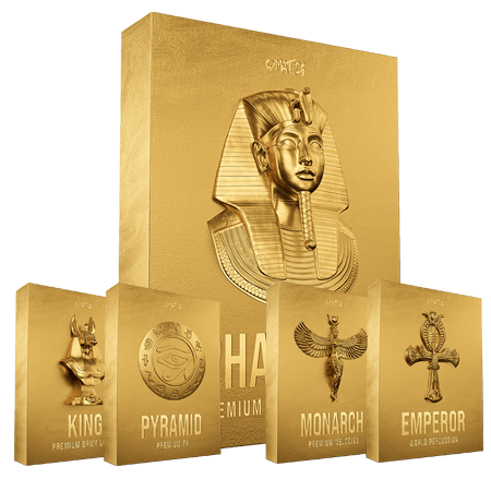 Cymatics PHARAOH Premium Drum Samples