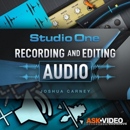 Ask Video Studio One 5 103 - Recording and Editing Audio