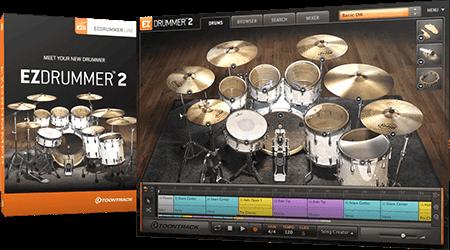 Toontrack EZdrummer 2 Core MIDI Update