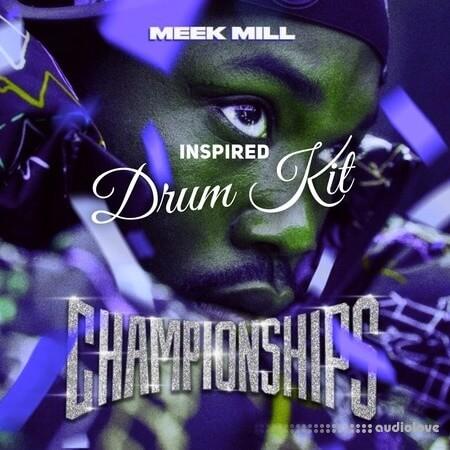Meek Mill Championships Inspired Drum Kit