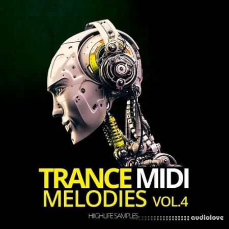 HighLife Samples Trance MIDI Melodies Volume 4