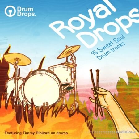 DrumDrops Royal Drops Loops Pack