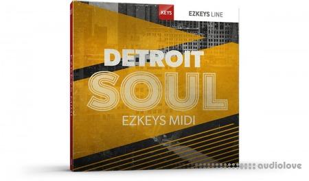 Toontrack Detroit Soul EZkeys MIDI