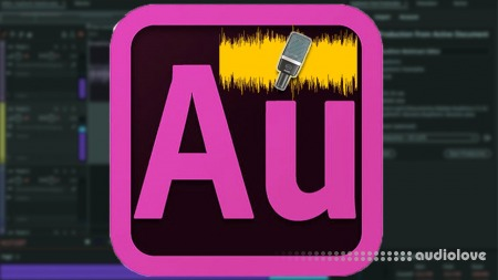 SkillShare Adode Audition Voice over cleanup and Professional Editing TUTORiAL