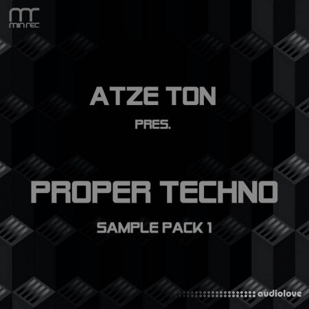 Atze Ton Proper Techno Sample Pack 2020