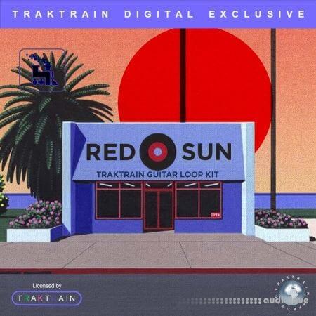 TrakTrain Red Sun Guitar Loop Kit
