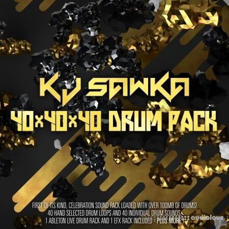 Splice Sounds KJ Sawka 40x40x40 Drum Pack