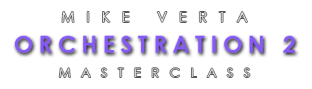 Mike Verta Orchestration 2 Masterclass