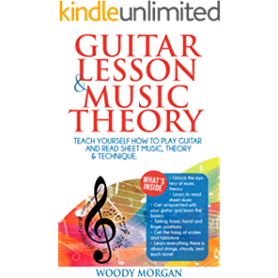 Guitar Lessons & Music Theory : Teach Yourself How to Play Guitar and Read Sheet Music, Theory & Technique