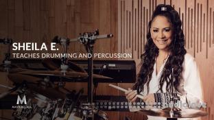 MasterClass Sheila E. Teaches Drumming and Percussion
