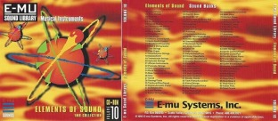 E-MU Classic Series Vol.10 Elements Of Sound 1MB
