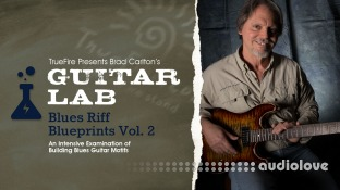 Truefire Brad Carlton Blues Riff Blueprints Vol.2