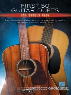 Hal Leonard Corp First 50 Guitar Duets You Should Play