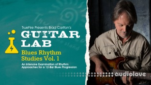 Truefire Brad Carlton Blues Rhythm Studies Vol.1
