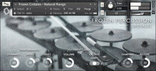 Fracture Sounds Frozen Percussion Crotales