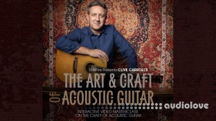 Truefire Clive Carroll The Art And Craft Of Acoustic Guitar