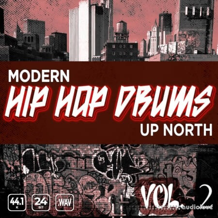 Epic Stock Media Modern Up North Hip Hop Drums Vol.2