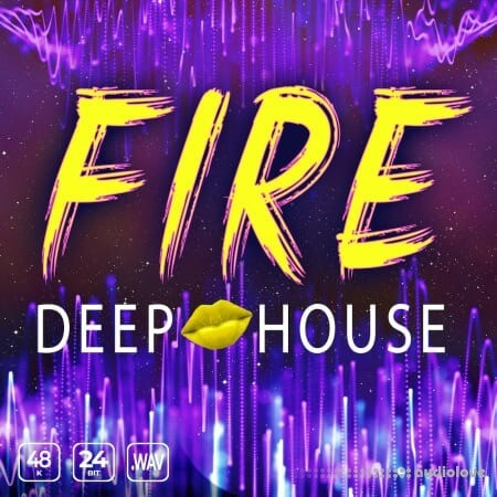Epic Stock Media Fire Deep House WAV