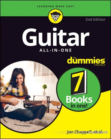 Guitar All-in-One For Dummies: Book + Online Video and Audio Instruction, 2nd Edition