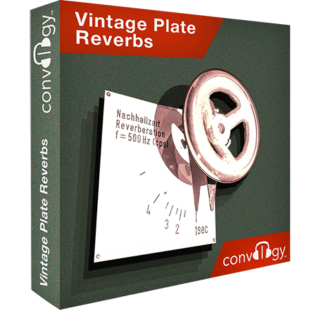 Presonus Convology Vintage Plate Reverbs (Impulse Bounce)