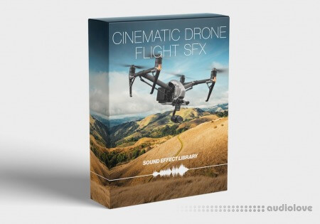 FCPX Full Access Cinematic Drone Flight SFX Library