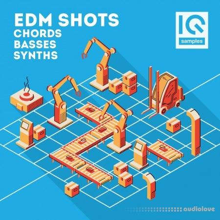 IQ Sample EDM Shots Chords, Basses, Synths