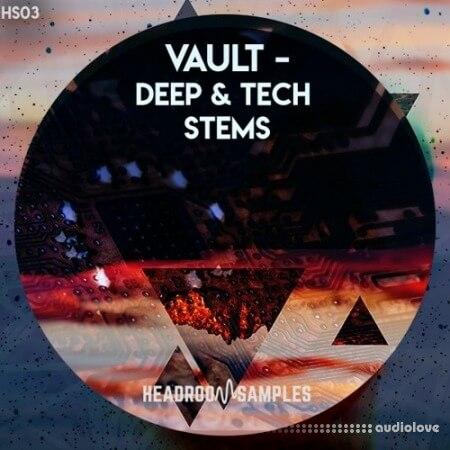 Headroom Samples Vault Deep and Tech Stems WAV MiDi