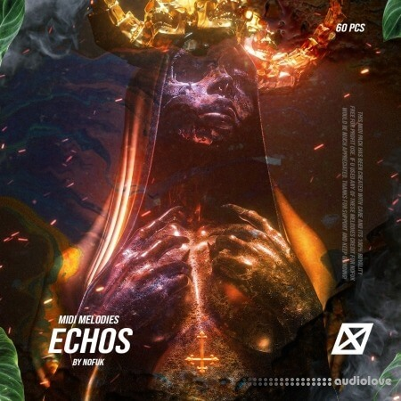 NoFuk ECHOS Trap Midi Melodies (60+ pcs)