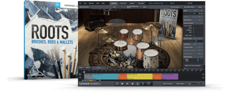 ToonTrack Roots SDX v02 Brushes Rods And Mallets