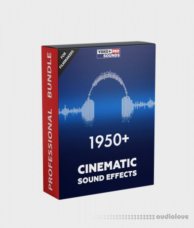 Video-Presets 1950+ Cinematic Sound Effect [FOR FILMMAKERS]