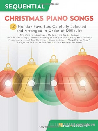Sequential Christmas Piano Songs Songbook