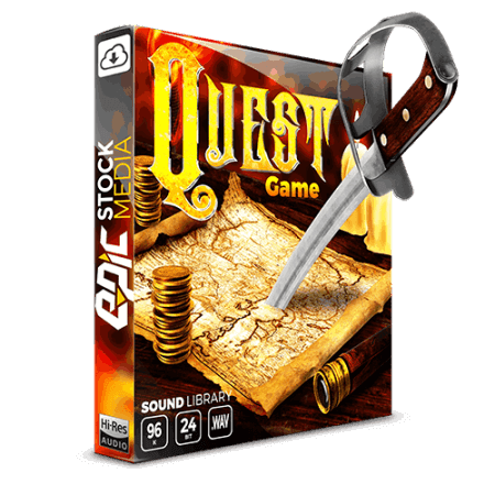 Epic Stock Media Quest Game
