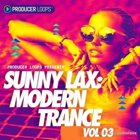Producer Loops Sunny Lax Modern Trance Vol.3