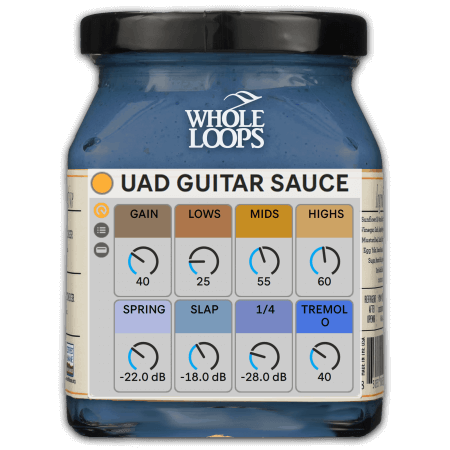 Whole Loops UAD Guitar Sauce