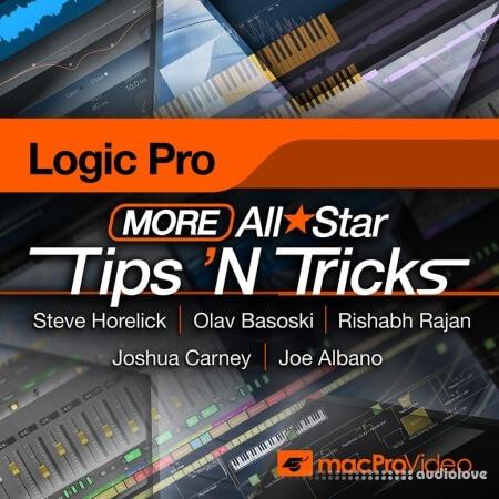 MacProVideo Logic Pro X 304 More Logic Pro All Star Tips 'N Tricks