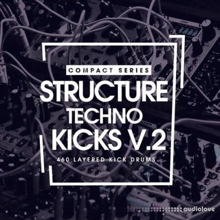 Bingoshakerz Compact Series Structure Techno Kicks V2