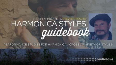 Truefire Steven Troch Harmonica Styles Guidebook